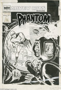 Original Comic Art:Covers, Jack Kirby (attributed) - Harvey Hits #6 The Phantom Cover OriginalArt (Harvey, 1958). Both The Overstreet Price Guide ...