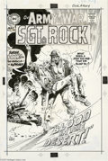 Original Comic Art:Covers, Joe Kubert - Our Army at War #193 Cover Original Art (DC,1968). Sgt. Rock was the ultimate WWII topkick -- ready to fight in... (3 items)