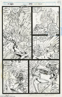 Jim Lee and Scott Williams - The Uncanny X-Men #273, page 27 Original Art (Marvel, 1991) Jean Grey attempts to locate th...