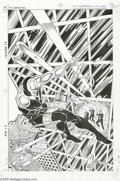Original Comic Art:Covers, Rob Liefeld and Al Vey - Checkmate #3 Cover Original Art (DCComics, 1988). Just out of high school, Rob Liefeld landed his ...