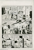 Original Comic Art:Panel Pages, Jerry Robinson and George Roussos - Batman #13, page 4 Original Art (DC, 1942). Hold on to your cowls, Bat-fans! Here's a se...
