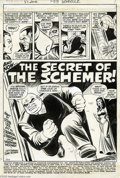 Original Comic Art:Panel Pages, John Romita Sr., John Buscema, and Jim Mooney - Amazing Spider-Man#85, Splash Page 1 Original Art (Marvel, 1970). The Kingp...