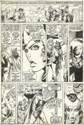 "Original Comic Art:Panel Pages, Barry Smith and Tom Sutton - The Avengers #99, page 12 Original Art(Marvel, 1972). ""Whom the Gods Would Destroy ... First T..."