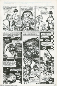 """Barry Smith - Marvel Comics Presents #80, """"Weapon X, part 8"""" page 5 Original Art (Marvel, 1991). It's payback..."""
