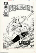 Original Comic Art:Covers, Jim Starlin - Dreadstar #18 Cover Original Art (Marvel, 1985). JimStarlin -- the very name conjures images of Captain Marve...