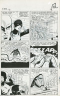 Original Comic Art:Panel Pages, Alex Toth, Jack Kirby, and Vince Colletta - X-Men #12, page 9Original Art (Marvel, 1965). Two titans of comic art teamed to...