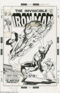 Original Comic Art:Covers, George Tuska and Frank Giacoia - Iron Man #15 Cover Original Art(Marvel, 1969). Here it is, Shellhead fans! From the last 1...