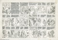 Original Comic Art:Complete Story, Vaughn Bode - Cheech Wizard Complete Story Original Art (Cavalier,1969). This finished penciled story was done in 1969, the...