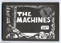 Silver Age (1956-1969):Alternative/Underground, The Machines #nn (Syracuse University, 1967) Condition: VF-. Thisblack and white pamphlet-sized comic was produced and prin...