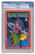 Bronze Age (1970-1979):Alternative/Underground, Slow Death #1 (Last Gasp, 1970) CGC NM+ 9.6 Off-white to white pages. More EC-influenced funnies for you, this time with an ...