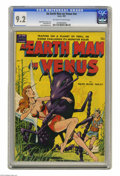 Golden Age (1938-1955):Science Fiction, An Earth Man on Venus #nn (Avon, 1951) CGC NM- 9.2 Off-white to white pages. This science fiction one-shot boasts interior a...