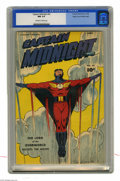 Golden Age (1938-1955):Superhero, Captain Midnight #62 Mile High pedigree (Fawcett, 1948) CGC NM 9.4 Off-white to white pages. Captain Midnight, a radio star ...