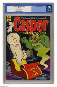 Casper the Friendly Ghost #20 (Harvey, 1954) CGC NM 9.4 Cream to off-white pages. This is the first appearance of Wendy...