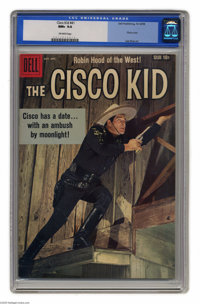 The Cisco Kid #41 (Dell, 1958) CGC NM+ 9.6 Off-white pages. Last issue of the title. Photo cover. Lee Elias art. Overstr...