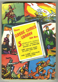 Classic Comics Library Gift Box (Gilberton, circa 1943) Condition: Average FN/VF. Rare to find this complete set of seco...