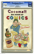 Golden Age (1938-1955):Humor, Cocomalt Big Book of Comics #1 (Chesler, 1938) CGC FN/VF 7.0 Off-white pages. This promotional comic received a scarcity rat...