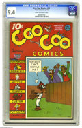 Golden Age (1938-1955):Funny Animal, Coo Coo Comics #28 (Nedor Publications, 1946) CGC NM 9.4 Cream tooff-white pages. This is the only copy of this issue that ...