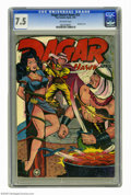Golden Age (1938-1955):Adventure, Dagar, Desert Hawk #23 (Fox Features Syndicate, 1949) CGC VF- 7.5 Off-white pages. Bondage cover. Overstreet 2005 VF 8.0 val...