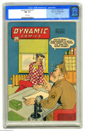 Golden Age (1938-1955):Superhero, Dynamic Comics #17 Mile High pedigree (Chesler, 1946) CGC NM- 9.2 White pages. This series from the house of Chesler starred...