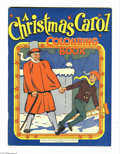 Golden Age (1938-1955):Miscellaneous, Educational Projects Coloring Book #nn A Christmas Carol - Vancouver pedigree (Educational Projects, Inc., circa 1945) Conditi...