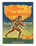 Golden Age (1938-1955):Miscellaneous, Educational Projects Coloring Book #nn Three Musketeers - Vancouver pedigree (Educational Projects, Inc., circa 1945) Conditio...