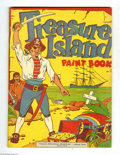 Golden Age (1938-1955):Miscellaneous, Educational Projects Coloring Book #nn Treasure Island - Vancouver pedigree (Educational Projects, Inc., circa 1945) Condition...