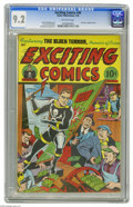 Golden Age (1938-1955):Superhero, Exciting Comics #49 (Nedor Publications, 1946) CGC NM- 9.2 Off-white pages. This issue of the Golden Age series features the...