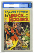 Golden Age (1938-1955):Science Fiction, Famous Funnies #209 (Eastern Color, 1953) CGC FN- 5.5 Cream tooff-white pages. Most Frank Frazetta fans can rattle off the ...