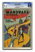 """Golden Age (1938-1955):Superhero, Feature Books #52 Mandrake the Magician (David McKay, 1948) CGC NM- 9.2 Off-white to white pages. Mandrake """"In the Land of X..."""