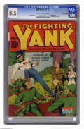 Golden Age (1938-1955):Adventure, Fighting Yank #1 Pennsylvania pedigree (Nedor Publications, 1942) CGC VF+ 8.5 Off-white to white pages. Having proven himsel...