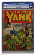 Golden Age (1938-1955):Adventure, Fighting Yank #1 (Nedor Publications, 1942) CGC VG/FN 5.0 Off-white to white pages. This premiere issue features art by Jack...