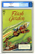 Golden Age (1938-1955):Science Fiction, Four Color #247 Flash Gordon (Dell, 1949) CGC NM 9.4 White pages.Overstreet 2005 NM- 9.2 value = $225. CGC census 3/05: 1 i...