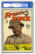 Golden Age (1938-1955):Adventure, Frank Buck #70 (Fox, 1950) CGC VF- 7.5 Off-white to white pages. First issue of the title. Wally Wood art. Overstreet 2005 N...