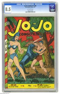 Jo-Jo Comics #7 (#8) (Fox Features Syndicate, 1947) CGC VF+ 8.5 Off-white pages. This issue #7 is actually #8, since the...