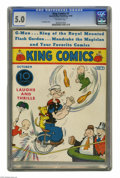 Platinum Age (1897-1937):Miscellaneous, King Comics #7 (David McKay Publications, 1936) CGC VG/FN 5.0 Off-white pages. This is the only copy CGC has certified to da...