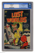 Golden Age (1938-1955):Science Fiction, Lost Worlds #5 White Mountain pedigree (Standard, 1952) CGC VF 8.0 White pages. First issue of the title. Alex Toth and Jack...
