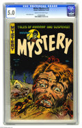Golden Age (1938-1955):Horror, Mister Mystery #11 (Aragon Magazines, Inc., 1953) CGC VG/FN 5.0Cream to off-white pages. Bernard Baily cover. Basil Wolvert...