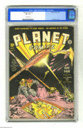 Golden Age (1938-1955):Superhero, Planet Comics #3 (Fiction House, 1940) CGC VF- 7.5 Off-white pages. Fiction House was way ahead of its time with this title,...