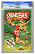 Golden Age (1938-1955):Miscellaneous, Rangers Comics #39 Okajima pedigree (Fiction House, 1948) CGC NM+ 9.6 Off-white to white pages. A look at CGC's census shows...