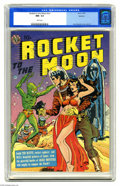 Golden Age (1938-1955):Science Fiction, Rocket to the Moon #nn Spokane pedigree (Avon, 1951) CGC NM- 9.2White pages. You can't beat a science fiction cover in the ...