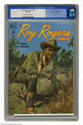 Golden Age (1938-1955):Western, Roy Rogers Comics #28 Mile High pedigree (Dell, 1950) CGC VF 8.0 Off-white to white pages. Photo cover. Overstreet 2005 VF 8...