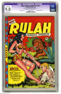 Golden Age (1938-1955):Adventure, Rulah Jungle Goddess #17 (Fox Features Syndicate, 1948) CGC Apparent VF/NM 9.0 Slight (A) Cream to off-white pages. First is...