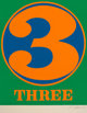 Robert Indiana (1928-2018) Three, 1968 Screenprint in colors on Schoellers Parole paper 25-1/2 x 19-3/4 inches (64.8