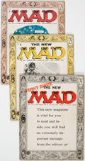 Magazines:Mad, MAD #24-26 Group (EC, 1955) Condition: Average VG.... (Total: 3Comic Books)