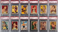 Boxing Cards:General, 1951 Topps Ringside Boxing PSA-Graded Complete Set (96)....