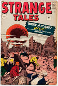 Silver Age (1956-1969):Science Fiction, Strange Tales #97 UK Edition (Marvel, 1962) Condition: FN-....