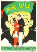 "Movie Posters:Drama, Mr. Wu (MGM, 1927). Swedish One Sheet (28"" X 39.25"") Couple Style, Eric Rohman Artwork.. ..."