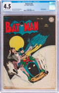 Golden Age (1938-1955):Superhero, Batman #26 (DC, 1945) CGC VG+ 4.5 Off-white to white pages....