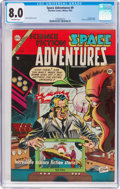 Golden Age (1938-1955):Science Fiction, Space Adventures #9 (Charlton, 1953) CGC VF 8.0 Off-white pages....