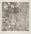 Fine Art - Work on Paper:Print, Guillaume Azoulay (b. 1949). Le Cirque, 2015. Etching on paper. 19 x 17-3/4 inches (48.3 x 45.1 cm) (image). 30-3/8 x 22...